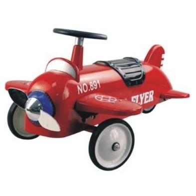 14151 Red Retro Ride on Plane 001
