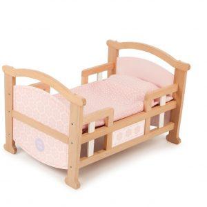 T-0212 Tidlo 2 in 1 Dolls Cradle as bed 001