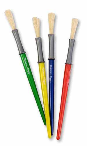Medium Paint Brushes by Melissa and Doug