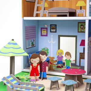 K-304  Murielle City Dolls House Playset by Krooom 001