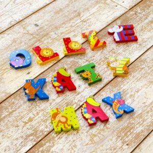 Orange Tree Toys Painted Wooden Letters