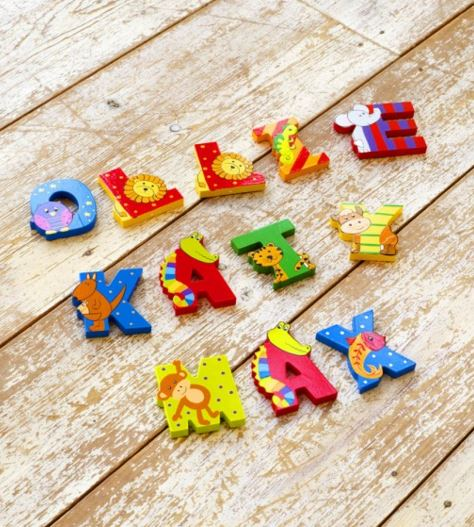 448 Orange Tree Toys Painted Wooden Letters 004