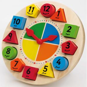T-0086 Sorting & Teaching Clock  001