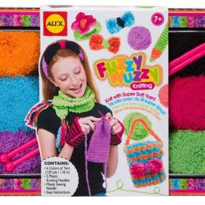 Alex Brands Fuzzy Wuzzy Knitting Kit