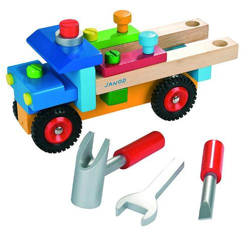 J05022 Janod Brico Kids DIY Truck  004