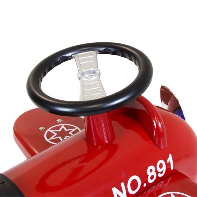 14151 Red Retro Ride on Plane 005