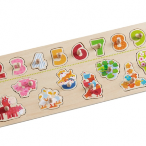 301961Haba Clutching Puzzle Animals By Number 001